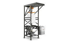 Bulk Bag Discharger with Flexible Screw Conveyor 360 View