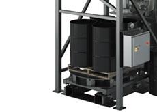 Drum Filler Platform Base