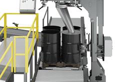 Drum Filler Roller Conveyor Base