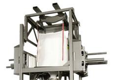 Forklift Bag Hanger with Loop Retractor