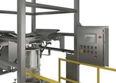 Bulk Bag Discharger Frame-mounted Hoise Controls