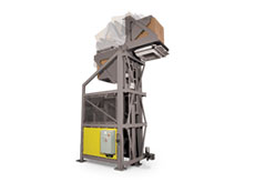 High-Lift Container Discharger
