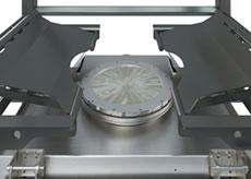 Iris Valve for Bulk Bag Spout Flow Control
