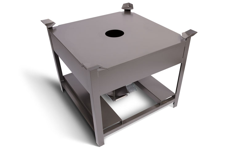Storage Bin with Process Cover