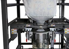 Pinch Valve for Bulk Bag Spout Flow Control