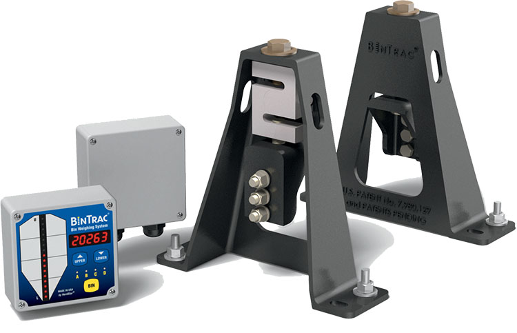 Storage silo load cell weigh systems
