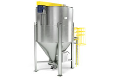 Belt Driven Top Loading Bulk Mixer