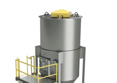 Top Loading Mixer with Vacuum Receiver
