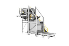 Automatic Container Discharging System 360 View