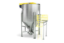 Top Loading Bulk Material Mixing System 360 View