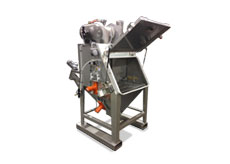 Bag Dump Station Vibratory Hopper Grate