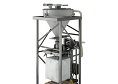Bulk Bag Filler with Pre-weigh Scale System
