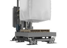 Bulk Bag Filler with Base-weigh Scale System