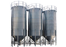 Corrugated Storage Silos