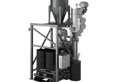 Drum Filler Dust Containment System