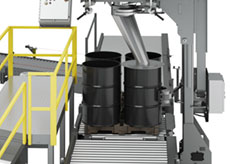 Drum Filler Roller Conveyor Base