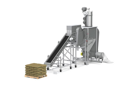 Packaged Product Recovery System
