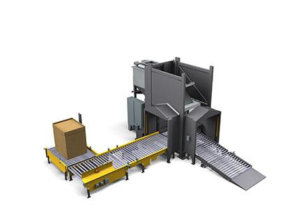 Container Discharging System