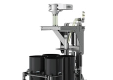 Drum Filler with Powered Height Adjustment