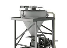 Bulk Material Filler with Pre-weigh Scale System