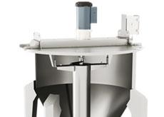 Bulk Material Mixer Dispersion Paddle